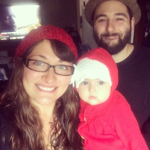 First Thanksgiving as a family of three - first Thanksgiving in Nashville