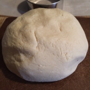 Roll into a big ball on a floured cutting board