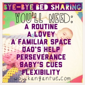 How I got my baby to sleep in her own room using common sense and her cues.